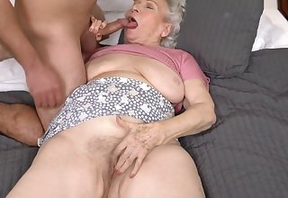 Helping Slay rub elbows with Granny Next Door - 21Sextreme