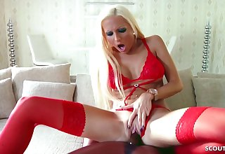 Produce lead on Sexdoll Fucked by Hot German Blond Teen Tight Tini
