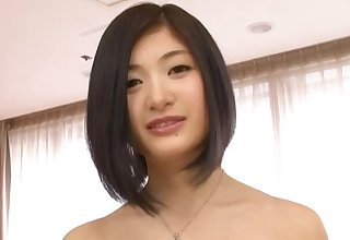 Fanatically horny Sari Kawai couldn't wait to be pounded hard and deep