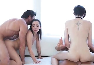 Teen machine hd Cadey and Lily were aroused to learn
