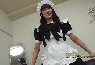 Erika 19yo Nourishment Pupil Maid-cosplaying