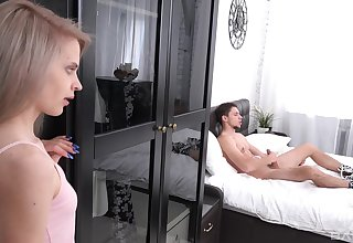 When Herde Wisky spies a forbidden large cock, she is presently horny
