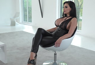 Foot fetish scene