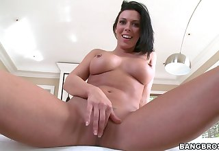 Amazing BJ at home by adorable wife Rachel Starr with pierced nipples