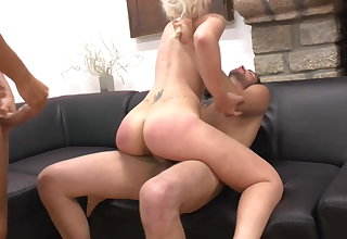 Grown up wives hallow rough anal intercourse