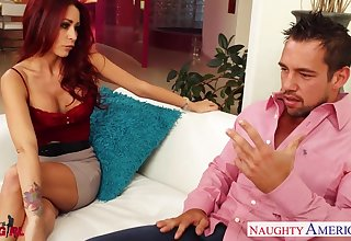 Johnny Mansion fucks lord it over sexy phase of his club friend Monique Alexander