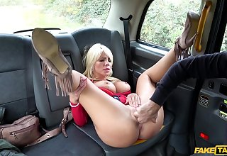Fake Taxi - Rough Fuck For Sexy Hungarian MILF 1 - Tiffany Rousso