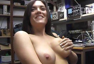 Nasty girl Rebekah Dee loves fingering her puss for the camera