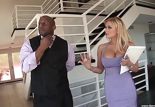 Cum in mouth and on breast after hardcore fucking with Shyla Stylez