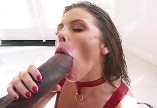 Dredd's BBC Drills Adriana Chechik's Irritant For A Squirting Orgasm