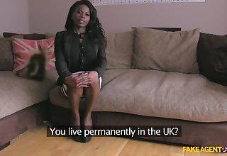 African Model Leaves Agent Speechless