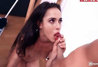 Mr. Sallow And Anastasia Brokelyn In Of the first water Ass Teen Latina Is Agreed-upon Anent Big Cock