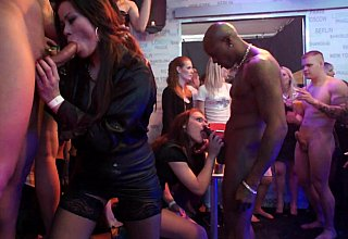Insane sex party