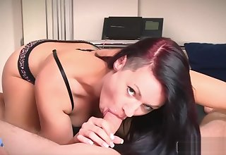 German Crazy Hooker give a acquiescent morning Blowjob