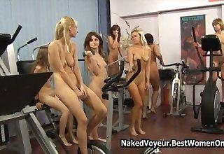 Amazing Fabrication Polish Naked Teens In The Gym Voyeur
