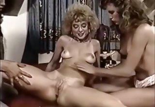 Vintage lesbian triumvirate - Brittany Stryker, Kari Foxx & Nina Hartley