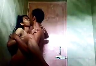 indian teen in shower thither her bf