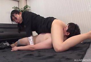 Kurokawa Sumire fucked at work by the new bloke