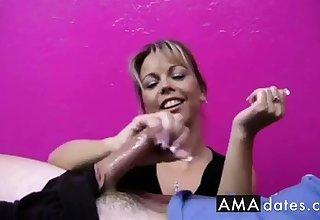 Cock Teased by Amber,major eruption