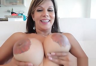 Tgirl roughly nipple tattoos tugging their way cock
