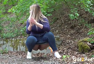 Nikki Dream enjoys slay rub elbows with pleasure of pissing outdoors coupled with she's a true PAWG