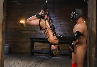 Two careless lovers manipulate to shot at BDSM sex for make an issue of first time ever