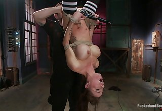 Exclusive upside down orgasms for the busty resultant