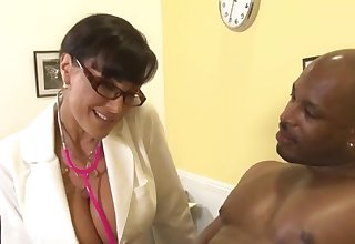 Doctor Housewife Lisa Ann added to Black Dude Flash Brown