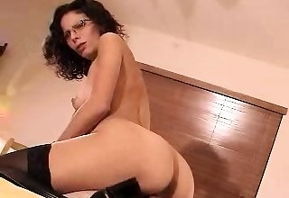Busty milf likes chubby black cocks