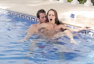 MILF afire gets laid with the pool guy and she loves euphoria