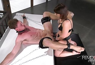 Domination Fuck up puff up Ivy Lebelle Fuck Guy With Strapon
