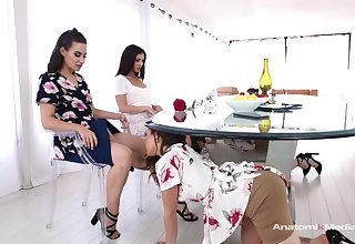Cassidy Klein and Jane Wilde like approximately shot at group lesbian sessions, every once in a while